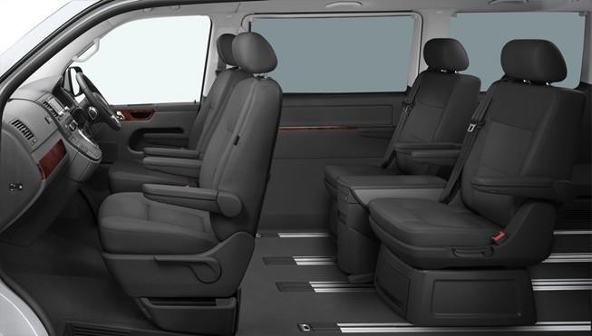 Luxury MPV interior