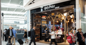 Harry Potter Shop Heathrow